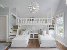 Image Of White 3 Bunk Bed