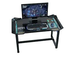 bureau pc gamer chaise de gaming bureau de gamer aauaaa e blue glowing pc gaming
