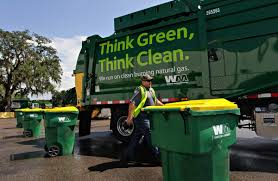 100 Natural Gas Trucks Waste Management Opening Fueling Station In Pinellas Park