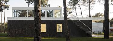 100 Bark Architects Bica Arquitectos Finishes Portuguese House With Coat Resembling The