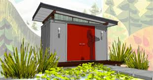 modern shed one woman s journey to a writing studio of her own