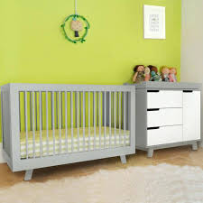 Babyletto Skip 3 Drawer Changer Dresser by Babyletto Hudson 3in1 Convertible Crib Awesome 2 Piece Nursery Set