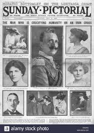 When Did The Lusitania Sink by Lusitania Newspaper Stock Photos U0026 Lusitania Newspaper Stock