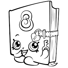 Adult Shopkins Season Coloring Pages Secret Sally Page