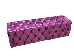 Purple Velvet King Headboard by Tufted Bed Bench Upholstered Bench Purple Velvet Bench Side