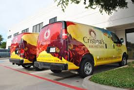 Cristina's Restaurant Wraps And A Snack Wagon | Car Wrap City