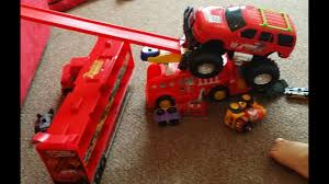 Toys And Monster Truck Cars Movie Pixar Lightning Mqueen Tow Mater ...