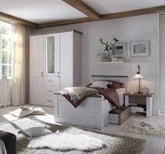 schlafzimmer in pinie weiß dekor trüffel dekor