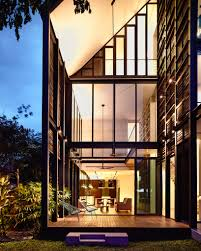 100 Hyla Architects Faber Terrace By HYLA Architects Uses A Timber Screen To Ensure Privacy