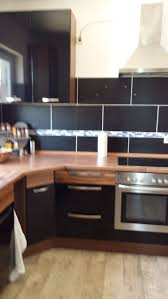 nobilia küche schwarz zebrano hochglanz in 59439