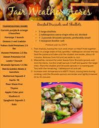 newsletter cuisine thanksgiving 2017 newsletter fair weather acres