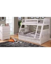 amazing deal on discovery world furniture twin over full white