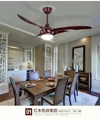 Dining Room Ceiling Fans Living Fan Indoor Modern Light Led