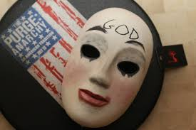 Purge Mask Halloween by Smiling Woman Mask From Spirit Halloween Very Closely Resembles