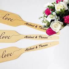Personalized Wooden Spoon Wedding Favor Handmade Engraved Spoons Saved The Date Or Gift Engagement