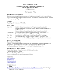 Teenage Resume Example Of A Examples For Teens