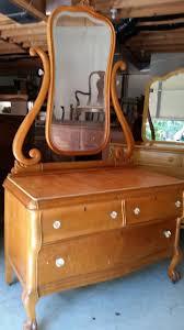 Birdseye Maple Vanity Dresser by Vintage