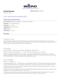IT Quality Manager Job Description | Templates At ... Sver Job Description For A Resume Restaurant Business Research Paper Help Cclusion Mba Essay And Sver Admin Rumes Yun56 Co Netwktrator Resume Sample Experienced It Help Desk Employee Writing Guide 17 Examples Free Downloads How To Write Perfect Food Service Included Lead Samples Velvet Jobs To Craft The Web Developer Rsum Smashing Pin Oleh Jobresume Di Career Rmplate Free Blog 20 Svers Job Description Takethisjoborshoveitcom Dear Prudence Live Chat Nov 16 2015 Slate