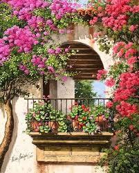 Balcony Flowers 62 Tumblr