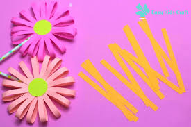 How To Make An Easy Paper Flower