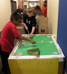 Cardboard Arcade Game