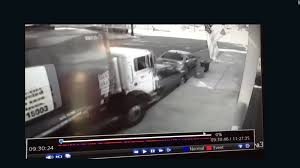 Runaway Garbage Truck Barrels Into Cars - CNN Video Garbage Truck Fire Caught On Video Nbc Connecticut 2019 New Freightliner M2 106 Trash Walk Around For Video High Speed Crash Wrecks Cars Properties In Woman Pulled From Trash Truck Phoenix Pictures For Kids Free Download Best Dumpster Pick Up L Stock Dumping Sound Effect Mp3 Shows Moment Garbage Crashes Over Highway Into Binkie Tv Learn Numbers Videos Youtube Autocomplete Volvo Unveils Its Autonomous Project Isuzu Compactor Sanitation Workers Loading Soho 4k Slow