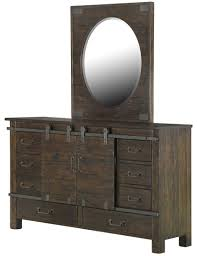 Baby Cache Heritage Double Dresser by Pine Hill Rustic Pine Panel Bedroom Set From Magnussen Home B3561