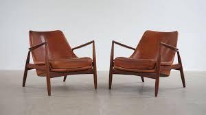 Kofod Larsen Selig Lounge Chair by Ib Kofod Larsen Seal Chairs