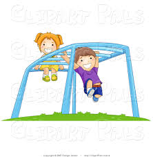 Playing clipart Children Playing Playground Clipart Pencil