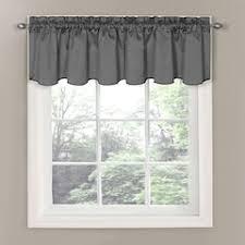 black valances window treatments home decor kohl s