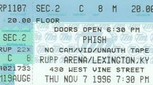 Bathtub Gin Phishnet by Phish Unveils Live Archival Release From Fall Tour 1996