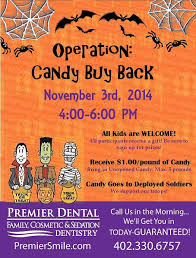 Operation Gratitude Halloween Candy Buy Back by Omaha Candy Buy Back