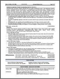 Corporate Accountant Resume Sample B