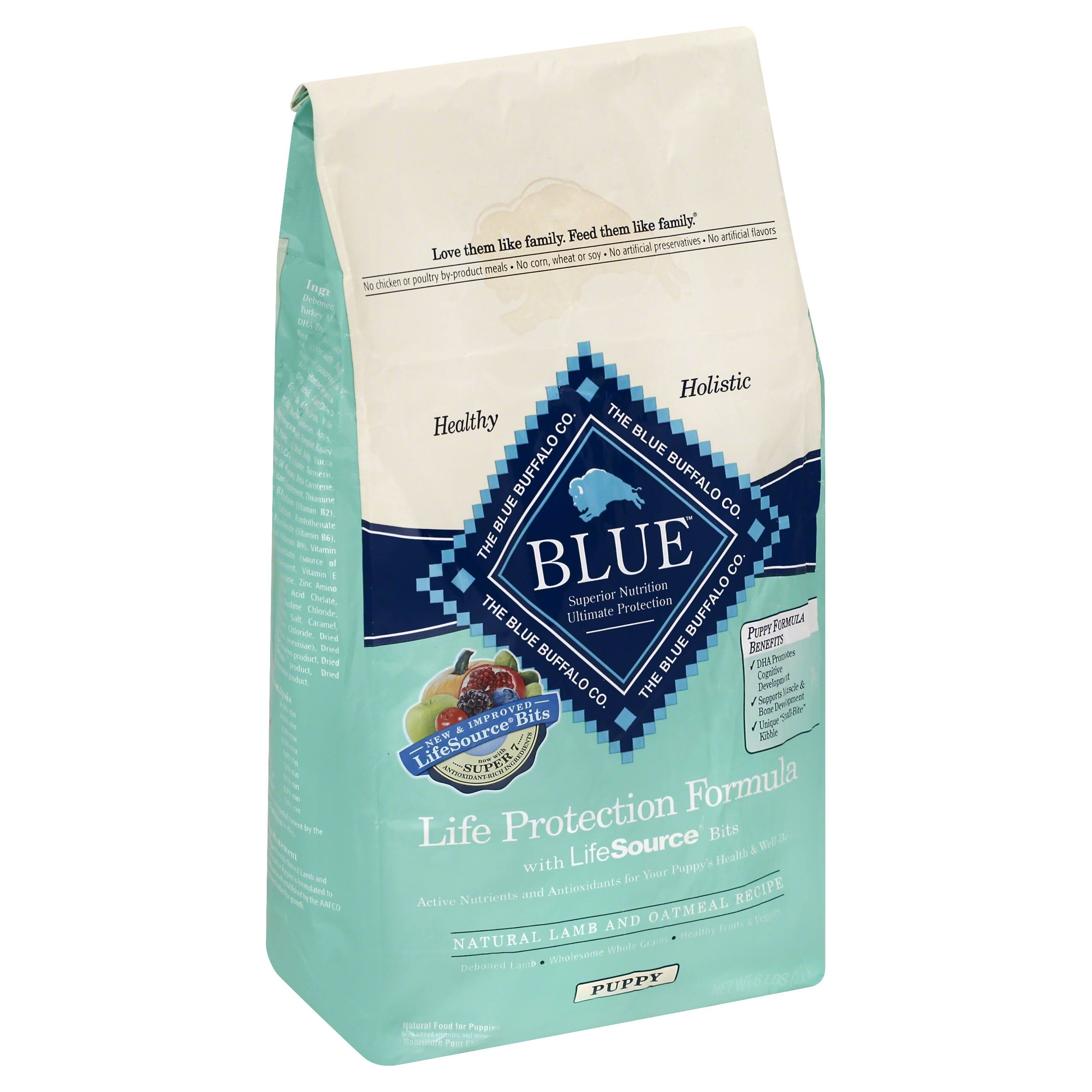Blue Buffalo BLUE Puppy Lamb & Oatmeal - 6lbs
