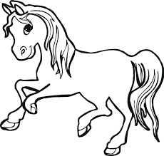 Coloring Pages Of Horses To Print With Wings Baby Full Size