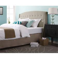 Gray Velvet King Headboard by Grey Tufted Headboard Elegant Types Of Beds For Sleep Well Types