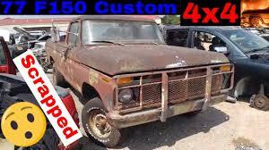 1977 Ford F150 Custom 4x4 Junk Yard Find - YouTube