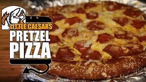 Little Caesars Soft Pretzel Crust Pizza Recipe Remake With Sauce