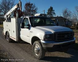 2004 Ford F550 Super Duty Service Truck With Crane | Item L5...