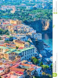 100 Houses In Sorrento Cityscape Of Marina Grande With And Port