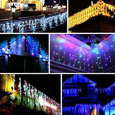 Icicle Lights In Bedroom by Cheap Indoor Outdoor Christmas Lights Lighting Led String Light