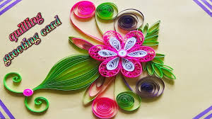 Paper Art Quilling Designs On Cards How To Make A Beautiful Greeting Card