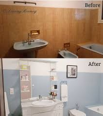 Our Bathroom Renovation Is Finally Done Changing The 70s Style Design Before And After