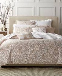 Macys Com Bedding by Closeout Charter Club Damask Designs Paisley Taupe Bedding