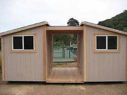 gerry woodworkers 12x16 slant roof shed plans