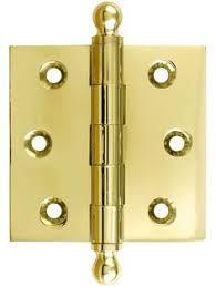 baldwin 1025 260 bal 2 5 inch x 2 inch ball tip cabinet hinge