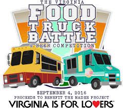 The Virginia Food Truck Battle Returns September 4, 2016