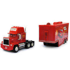 Buy Anokhe Collections Pixar Cars-Lightning Mcqueen With Mack Truck ... Bruder Toys Mack Granite 116 Play Snow Plow Dump Truck With Front Lego 42078 Technic Anthem Toyworld Httpswwwckmhopcoentimagesthumbs Cstruction Videos Disney Pixar Cars Hauler For Best Choice Products Set Of 3 Push And Go Friction Powered Car Mack Tip Up Jadrem Brand New Pack Lego Set Train Toy 2 Wally Exclusive Semi Trucks Disneypixar 124 Tractor By Jada The Only Ride On Hammacher Schlemmer Tanker Bta02827 Hobbies Amain