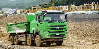 100 Large Dump Trucks Shenzhen BYD Lands Large Order For Electric Dump Trucks