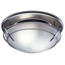 Nutone Bathroom Fan Replacement Bulb by Broan 757sn Decorative Ventilation Fan And Light 80 Cfm 2 5 Sones
